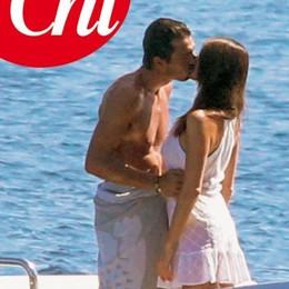 Buffon e Ilaria d'Amico  Vacanza d'amore in Grecia