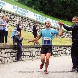 La Skyrace della Valchiavenna  Sancassiani concede il bis vincente