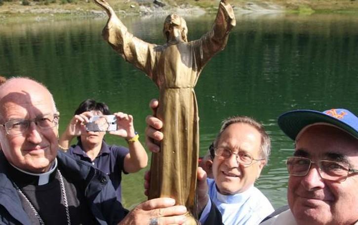 Al lago Palù l'appello del vescovo Coletti per la Custodia del Creato
