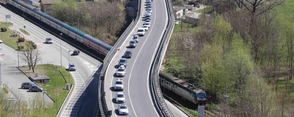 Sulla statale 38 sono passati 24mila mezzi  in una sola giornata