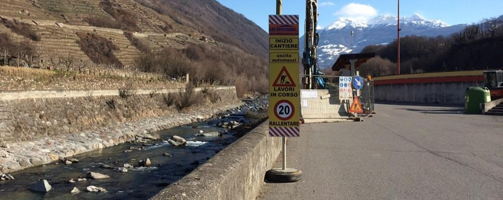 Passerella ciclopedonale sull'Adda: cantiere aperto, sarà pronta entro aprile