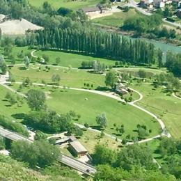 Nuova ciclopedonale dal parco a Caiolo  «Ma così non c'è più spazio per i cavalli»