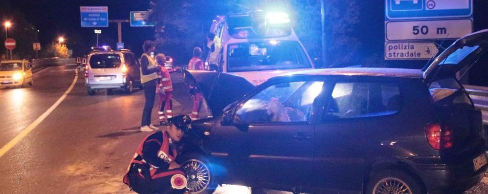 Incidenti stradali, netto calo in provincia