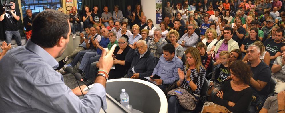 Salvini verso il voto: «Cambiare si può»