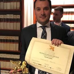 """Sosio in nomination per il """"Leone d'Oro"""" all'imprenditoria"""