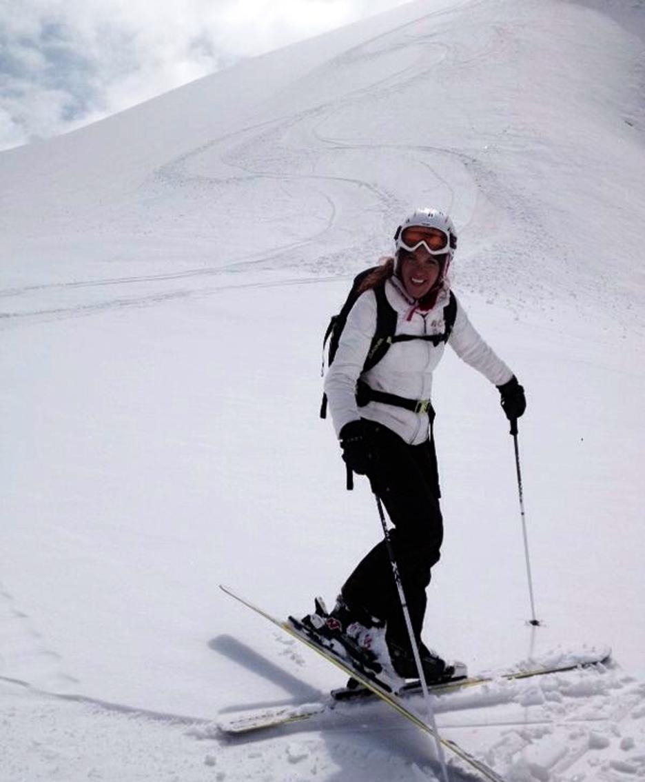 Carlotta quando sciava