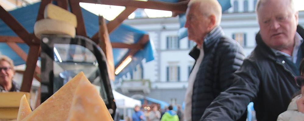 Formaggi in piazza a Sondrio, il Comune cala un tris di eventi