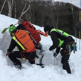 Valanghe: rischio alto su Alpi Retiche e Orobie in Lombardia