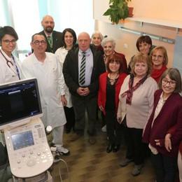 All'ospedale di Sondrio il nuovo ecografo dell'Alomar