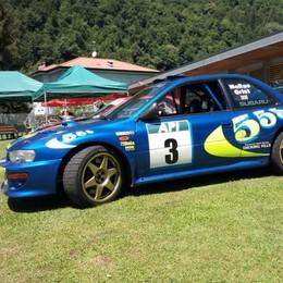 Colpo a Valbrona: la Subaru del mito sfila in passerella