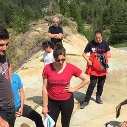 Tour delle Alpi: da Philadelphia  fino a Lanzada
