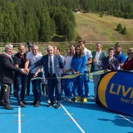 «Nuova pista di atletica a Livigno, un passo verso le Olimpiadi»