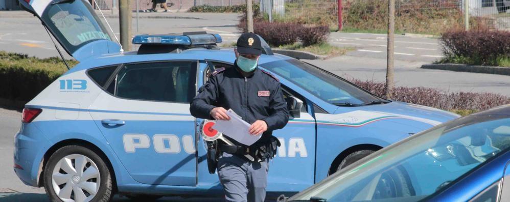 In auto, di notte, con la droga:   arrestato a Sondrio