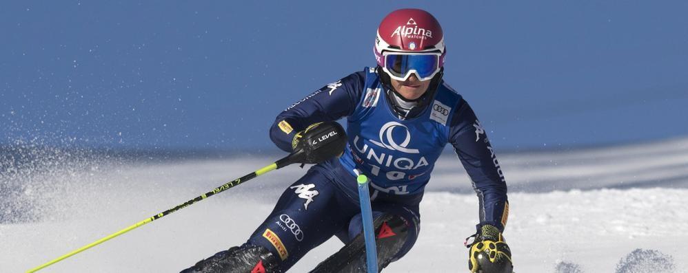 Irene Curtoni ancora   in Coppa del mondo