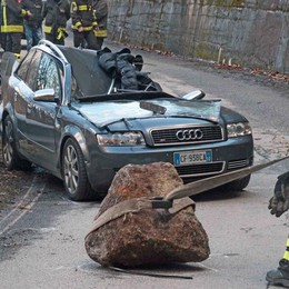 «Quel masso  è caduto   da almeno 350 metri»