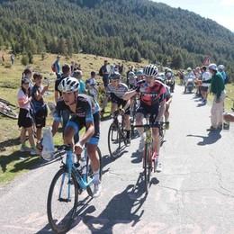 Il Giro d'Italia Under 23   sposa la Valtellina