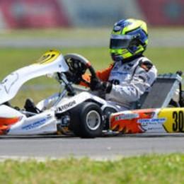 Karting junior Aci  Francesco Marenghi  campione italiano