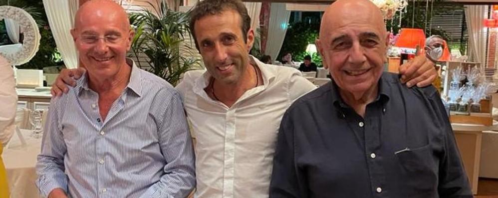 """Calcio, il nuovo Sondrio  si """"sposa"""" con Berlusconi"""