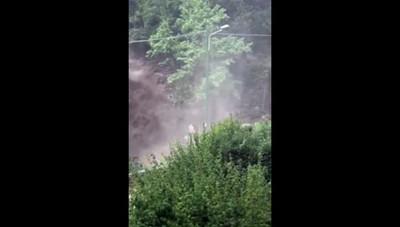 Cernobbio - Disastro per il maltempo