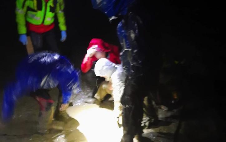 Immersa nel fango  Valfurva, donna salvata  dal soccorso alpino