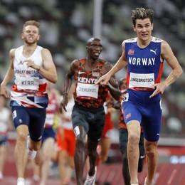 L'oro olimpico   si è allenato a Chiavenna