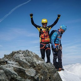 Boscacci da record  Da Sondrio al Bernina  in appena cinque ore