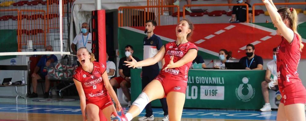 Francesca Zanella  «In B1 per crescere»