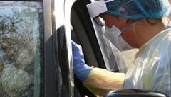 Obbligo di Green pass  Tamponi in auto  fuori dagli ospedali